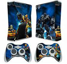 Transformer 003 Vinyl Decal Skin Sticker for Xbox360 slim and 2 controller skins