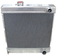 NEW 1964-66 FORD MUSTANG ALUMINUM DOWNFLOW RADIATOR,MANUAL,STREET HOT ROD