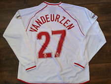 2001 2003 Stoke City Match Worn L/s Vandeurzen Away Football Shirt