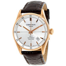 Certina DS 1 Automatic Silver Dial Ladies Watch C0064073603100