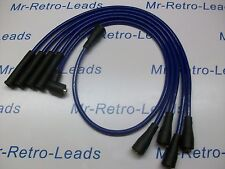 BLUE 8MM PERFORMANCE IGNITION LEADS TO FIT. TRIUMPH TR7 LATE TYPE QUALITY LEADS