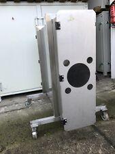 Glasbox für Solarmodule Lagerbox Abkühlbox Photovoltaik Sputteranlage Leybold