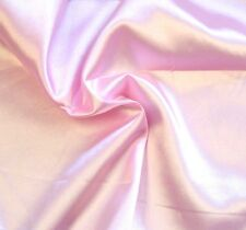"""Stretch charmeuse Satin Baby Pink Solid Pantie Lingerie Farbic 60"""" BTY"""