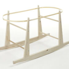 NEW Eco Rocking Moses Basket Stand Natural pine