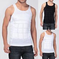 Men's Slimming Body Slim N Lift Shaper Belly Buster Underwear Vest Compression