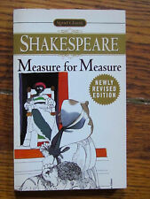 Measure for Measure- William Shakespeare, w/ Updated Critical Essay (Signet Ed.)
