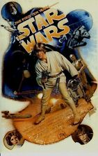 ORIGINAL1987 LICENSED 6-STAR WARS 10th Anniversary STRUZAN POSTER Postcards