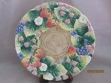 """Fitz & Floyd 1991 9"""" Berry Patch Plate with Hanger"""