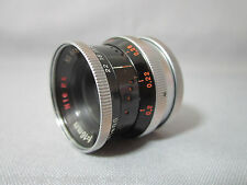 SUPER-16! KERN SWITAR H16 RX 1.8/16MM C-MOUNT LENS FOR BMPCC 16MM MOVIE CAMERA