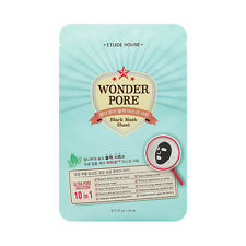[ETUDE HOUSE] Wonder Pore Black Mask Sheet - 2pcs
