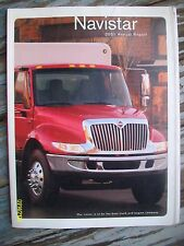 Rare Original Vintage 2001 International Navistar Annual Report Booklet 76-pages