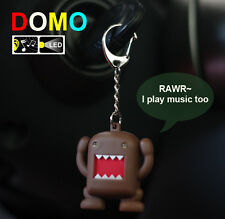 DOMO KUN doll backpack key chain accessories flashlight & sound led