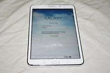 Samsung Galaxy Tab 4 SM-T337T Wi-Fi + 4G (T-Mobile) 8in. Clean ESN. WORKS! #8343