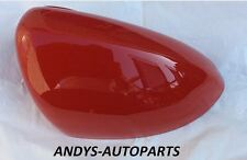VAUXHALL CORSA D 06 ONWARDS WING MIRROR COVER LH OR RH IN FLAME RED
