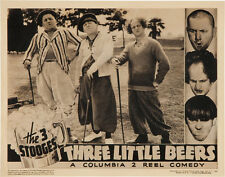 """The Three Stooges in Three Little Beers Poster Replica 14 x 11"""" Photo Print"""