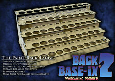 MDF Paint Bottle Rack Modular Organizer for Games Workshop Citadel Paint 43 Pots