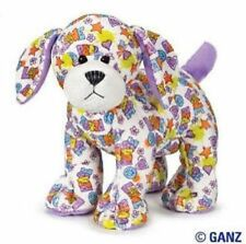 Webkinz PEACE 'N LOVE PUPPY HM721 NEW With  Sealed Code