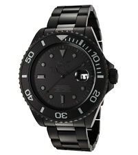 Invicta F0068 Men's Pro Diver Black Ion Plated SS Automatic Dive Watch