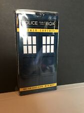 Doctor Who Police Call Box Shower Curtain Geek Fuel Exclusive Brand New!!