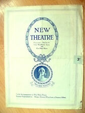 New Theatre Programme- Mary Moore & Sybil Thorndike's THE SCANDAL by Lady Bell