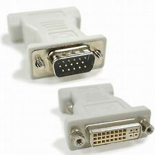 NEW DVI-I Female Analog (24+5) to VGA Male (15-pin) Connector Adapter