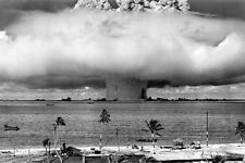 Operation Crossroads Baker Poster Atomic Bomb Nuclear Testing 24in x 36in