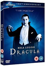 DRACULA DVD NEW BELA LUGOSI AS COUNT DRACULA CLASSIC HORROR FILM MOVIE