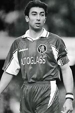 Football Photo ROBERTO DI MATTEO Chelsea 1997-98
