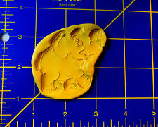 Elephant Cartoon Zoo  -Flexible Silicone Mold- Candy Cake Cookie Crafts