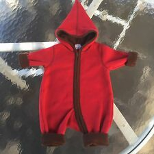HANNA ANDERSSON Adorable Boy's,Girls SNUGGLE UP NORDIC FLEECE BABY BUNTING, 60