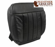 2007 Ford F150 Harley-Davidson SuperCrew -Driver Bottom Leather Seat Cover BLACK