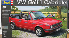 Revell Germany 1/24 VW Volkswagen Golf 1 Cabriolet  Plastic Model Kit 07071