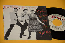 """ROCKY SHARPE AND THE REPLAYS 7"""" 45 RAMA LAMA 1°ST ORIG ITALY 1979 EX"""