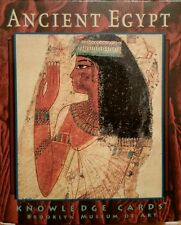 Ancient Egypt Knowledge Cards Brooklyn Museum Art Deck of Cards Egyptian History