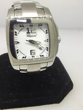 CHOPARD TWO o TEN STAINLESS STEEL LADIES WATCH 11/8464 NEW! $5,860 RETAIL!!!