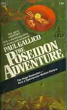 THE POSEIDON ADVENTURE - NOVEL - TIDAL WAVE CAUSES HUGE OCEAN LINER TO ROLL OVER