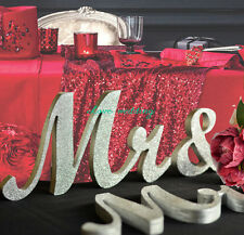 Mr and.Mrs sign set Wedding sign set Sweetheart table decor wooden signs.