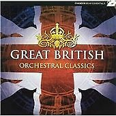 Great British Orchestral Classics, Various Composers, Very Good Double CD