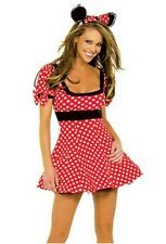 Sexy Women Lingeries Minnie Mouse Fancy Dress Costume L