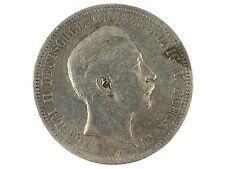 Kaiserreich 5 Mark Silber 1898 A Wilhelm II. Deutscher Kaiser König von Preußen