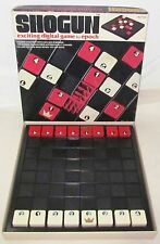 1976 SHOGUN Magnetic Digital  Checkers Style Board Game Epoch Japan GREAT SHAPE