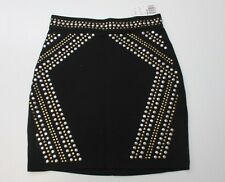 """ FOREVER 21 "" NEW WITH TAGS Women's Knee-Length Black Sequined Skirt Size S"