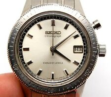 VINTAGE SEIKO 5717 8990 TA ONE BUTTON CHRONOGRAPH MENS CRONOSTOP WATCH DIASHOCK
