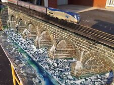 """PRR Juniata Viaduct 1898' HO gauge Historic """"LE"""" """"SS"""" Introductory offering NICE"""