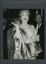 JOAN CRAWFORD ARRIVES AT THE PREMIERE OF MY FAIR LADY - 1964 - GLAMOR + FASHION