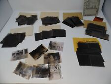 LOT of 200+ Vintage Black & White Photo NEGATIVES 1940's Everyday, Vacation etc