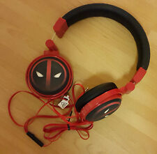 Marvel Comics Superhero Headphones: DEADPOOL - iPhone, iPad, Smart phone, gaming