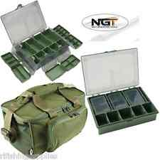 NGT Carp Fishing Tackle Bag Holdall 537 + 6+1 Tackle Box System With Dividers