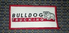BULLDOG TRUCKING Iron or Sew-On Patch