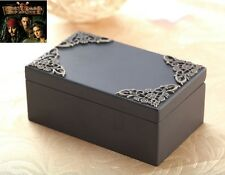 Classic Black Rectangle Music Box : Pirates of Caribbean Davy Jones Theme